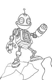 ratchet and clank movie rough sketch by sonicwindartist on