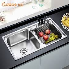 Aliexpresscom  Buy  Stainless Steel Above Counter Kitchen - Single or double bowl kitchen sink