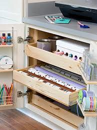 Craft Room Cabinets Best Professional Organizer Houston