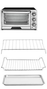 Cuisinart Tob 195 Exact Heat Toaster Oven Broiler Stainless Toaster Ovens 122930 Cuisinart Tob 195 Exact Heat Toaster Oven