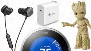 amazon black friday nest thermostat today u0027s best deals nest thermostat marvel sale anker soundbuds