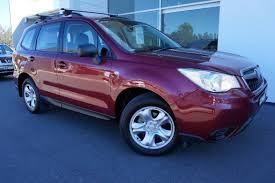 purple subaru wagon 2014 subaru forester 2 5i my14 red metallic for sale in port