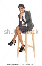 High Chair That Sits On Chair Young Pretty Man Sits On Bar Stock Photo 74403550 Shutterstock