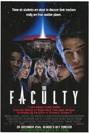 the faculty movie poster usher raymond josh hartnett 98 ebay