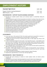 resume for teachers nsw best resumes curiculum vitae and cover