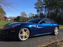 blue ferrari 2014 ferrari ff tdf blue full warranty full maintenance