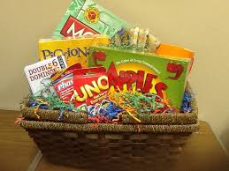 gift baskets for families board and card always seem to fill with