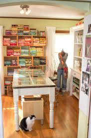 Jennifer Mcguire Craft Room - 1475 best craft u0026 sewing rooms images on pinterest craft rooms