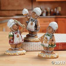 gingerbread figurines oriental trading discontinued