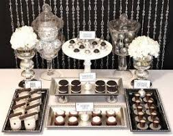 black buffet tables foter