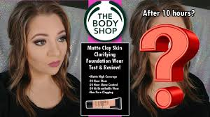 best clarifying shoo for colored hair the body shop matte clay foundation review wear test jami