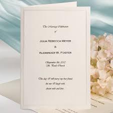 bi fold wedding program template wilton wedding invitation templates yourweek 5ae7adeca25e