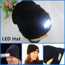 knit hat with led lights sport hat led light online sport hat led light for sale