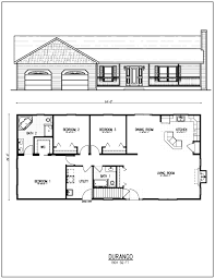 Ranch Style Home Plans With Basement Innovation 5 Free House Plans Ranch 25 Best Simple Floor Ideas