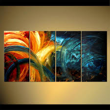 original home decor painting original abstract home decor painting colorful 4453