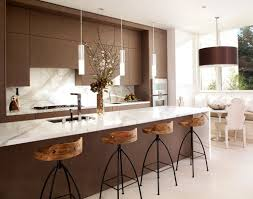 Kitchen Rustic Design Rustic Kitchen White Brown Chair On Concrete Floors Expose Marble