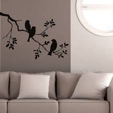 online get cheap wall tattoos quotes aliexpress com alibaba group birds on the tree branch wall stickers 57x85cm vinyl wall art decals quotes custom color wall