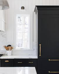 what hardware looks best on black cabinets y all this space speaks to me the black cabinets