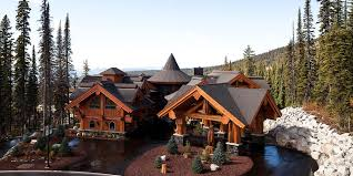 biggest luxury log home