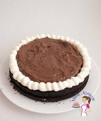 moist eggless chocolate fudge cake recipe veena azmanov