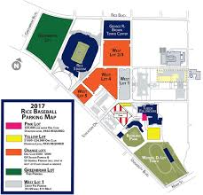 Baseball Map Rice University Athletics Official Athletic Site