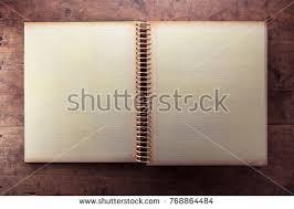 blank photo album blank page 1950s photo album scrap stock photo 95530498