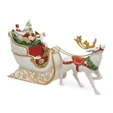santa s sleigh porcelain it s time for the 2017 keepsake ornament