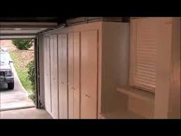 building rather than buying u0027 garage storage cabinets youtube