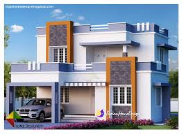 the home designers 1987 sqft 3 bedroom contemporary indian home design homes