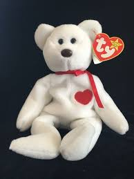 ty valentino ty valentino beanie babies baby retired misspelled tags 10
