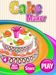 cake baker salon food maker u0026 cooking kids games on the app store