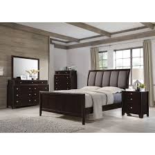 madison bedroom set madison bedroom set with upholstered headboard in dark merlot