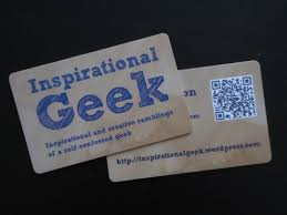 inspirational business cards business cards inspirational geek