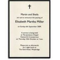funeral invitation sample ktrdecor com