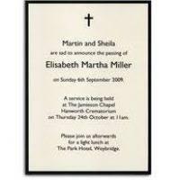 Funeral Invitation Sample Funeral Invitation Sample Ktrdecor Com