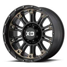dodge ram with black rims 18 inch black wheels rims xd series xd829 hoss 2 hummer h2 8 lug