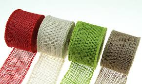 colored burlap ribbon apple green burlap ribbon 2 5 inch x 10 yards high quality jute