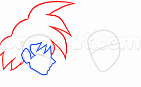 draw goku naruto step step anime characters anime