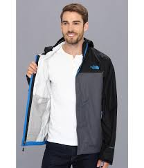 the north face venture jacket in black for men lyst