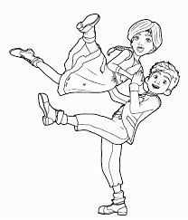 coloring page s leap movie coloring pages
