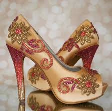 wedding shoes india ways to look slim in your bridal attire at your wedding
