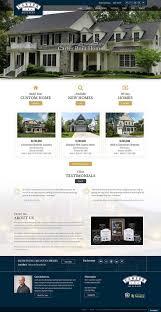 website home design homebuilder apartment senior living website