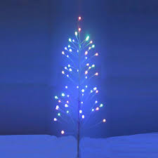 artificial pre lit christmas trees northern lights and trees