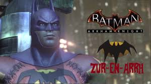 batman arkham city halloween costumes skin batman arkham city batman of zur en arrh youtube