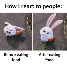 Eating Meme - dopl3r com memes how i react to people before eating food