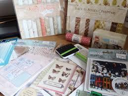 christmas craft supplies haul u2013 puddleside musings