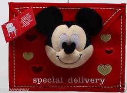 Mickey Mouse Chair Covers Disney U0027s Mickey Mouse Special Delivery Valentine U0027s Day Chair Cover
