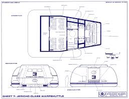 star trek blueprints joshua class starship federation command cruiser