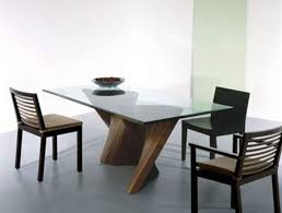 contemporary glass dining tables modern glass dining room tables