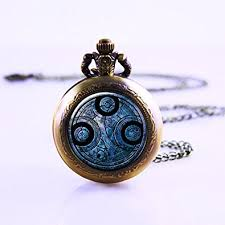 necklace pendant watch images Time lord seal pendant pocket watch dr who necklace jpg